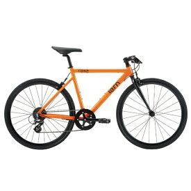 TERN ターン 650×28C型 クロスバイク Clutch(480mm/OR/8段変速)【適用身長:155〜170cm】【組立商品につき返品不可】【b_pup】 【代金引換配送不可】
