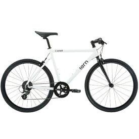 TERN ターン 650×28C型 クロスバイク Clutch(480mm/WH/8段変速)【適用身長:155〜170cm】【組立商品につき返品不可】【b_pup】 【代金引換配送不可】