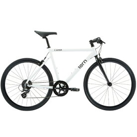 TERN ターン 700×28C型 クロスバイク Clutch(540mm/WH/8段変速)【適用身長:170〜185cm】【組立商品につき返品不可】【b_pup】 【代金引換配送不可】