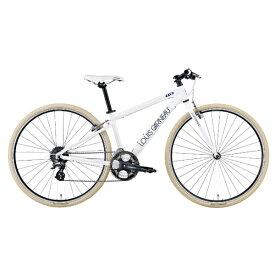 ルイガノ 700×32C クロスバイク SETTER 8.0(470mm/LG WHITE/8段変速)【適用身長:170〜185cm】【組立商品につき返品不可】 【代金引換配送不可】