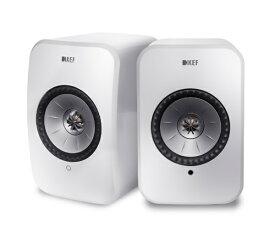 KEF ケーイーエフ ハイレゾ対応 フルワイヤレス・スピーカー LSX グロスホワイト [ハイレゾ対応 /Bluetooth対応 /Wi-Fi対応][LSX]