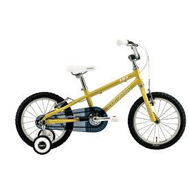 ルイガノ 16型 子供用自転車 LGS-K16(220mm/MUSTARD/シングルシフト)【適応身長:95〜115cm】【組立商品につき返品不可】 【代金引換配送不可】