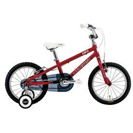 ルイガノ 16型 子供用自転車 LGS-K16(220mm/LG RED/シングルシフト)【適応身長:95〜115cm】【組立商品につき返品不可】 【代金引換配送不可】