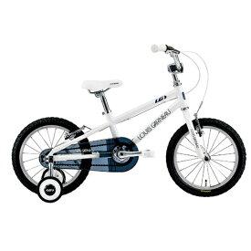 ルイガノ 16型 子供用自転車 LGS-K16(220mm/LG WHITE/シングルシフト)【適応身長:95〜115cm】【組立商品につき返品不可】 【代金引換配送不可】