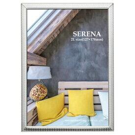 ハクバ HAKUBA メタルフォトフレーム SERENA(セレーナ)03 2Lサイズ 1面 シルバー FSR03-SV2L1 シルバー