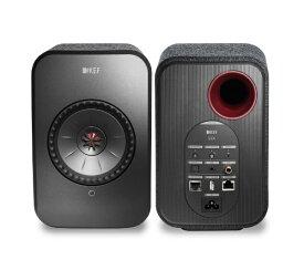 KEF ケーイーエフ WiFiスピーカー BLACK LSX [ハイレゾ対応 /Bluetooth対応 /Wi-Fi対応][LSX]