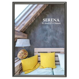 ハクバ HAKUBA メタルフォトフレーム SERENA(セレーナ)01 2Lサイズ 1面 ブラック FSR01-BK2L1 ブラック