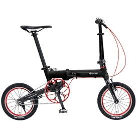 ルノー RENAULT 14型 折りたたみ自転車 ウルトラライト7ネクスト AL140(ブラック/シングルシフト) 11292-01【組立商品につき返品不可】【b_pup】 【代金引換配送不可】