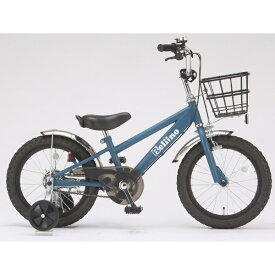 サイモト自転車 SAIMOTO 16型 子供用自転車 ベリーノ(マットネイビー/シングルシフト)KDーB16BK-BMXーA【組立商品につき返品不可】 【代金引換配送不可】