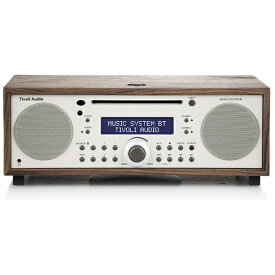 Tivoli Audio チボリオーディオ ブルートゥーススピーカー MUSIC SYSTEM BT MSYBT1529JP Classic Walnut/Beige [Bluetooth対応][MSYBT1529JP]