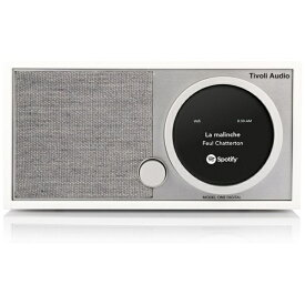 Tivoli Audio チボリオーディオ WiFiスピーカー MOD1748JP ホワイト/グレー [Bluetooth対応 /Wi-Fi対応][MOD1748JP]