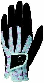 キャスコ 【レディース 左手用】ゴルフグローブ 艶グローブ(18.0〜21.0cm/桜×ブラック) SF-1918L