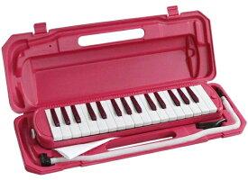 キョーリツ KYORITSU 鍵盤ハーモニカ P3001-32K/VPK ビビッドピンク
