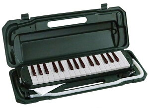 キョーリツ KYORITSU 鍵盤ハーモニカ P3001-32K/MGR モスグリーン[ピアニカ 32鍵盤]