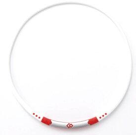 コラントッテ Colantotte ネックレス ワックルネック SPORT(ホワイト×レッド/Lサイズ)