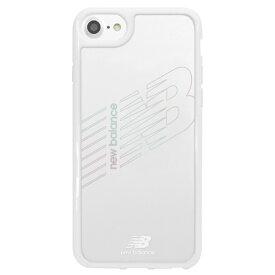 エムディーシー MDC New Balance [TPU+PC ケース/ホワイト] iPhone8 md-74255-6