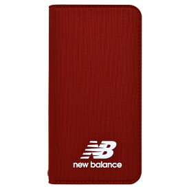 エムディーシー MDC New Balance [手帳ケース/レッド] iPhone8 md-74257-3