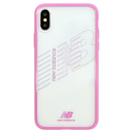 エムディーシー MDC New Balance [TPU+PC ケース/ピンク] iPhoneXS/X md-74260-4