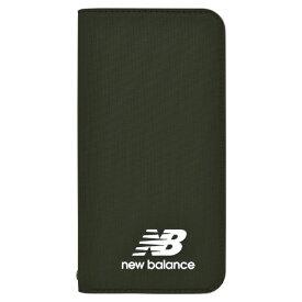 エムディーシー MDC New Balance [シンプル手帳ケース/カーキ] iPhoneXS/X md-74261-2
