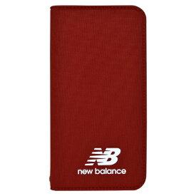 エムディーシー MDC New Balance [シンプル手帳ケース/レッド] iPhoneXS/X md-74261-3