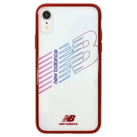 エムディーシー MDC New Balance [TPU+PC ケース/レッド] iPhoneXR md-74262-3