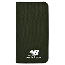 エムディーシー MDC New Balance [シンプル手帳ケース/カーキ] iPhoneXR md-74263-2