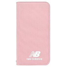 エムディーシー MDC New Balance [シンプル手帳ケース/ピンク] iPhoneXR md-74263-4