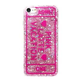 エムディーシー MDC iPhone8/7[ADMIT ONE] / ラメシリコンケース md-74231PNK ピンク