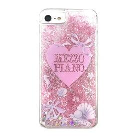 エムディーシー MDC iPhone8/7mezzo piano[シェル] / グリッターケース md-74124