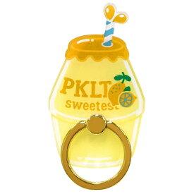 エムディーシー MDC スマホリング / PINK-latte レモン md-74217