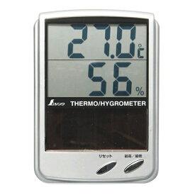 シンワ測定 Shinwa Rules シンワ測定 デジタル温湿度計Bソーラーパネル A764-72989[A76472989]