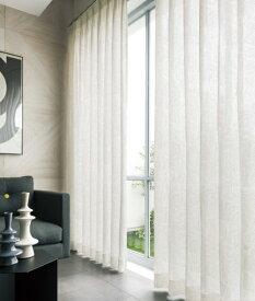 東京シンコール TOKYO SINCOL レースカーテン ブロッサム(100×133cm/ホワイト)