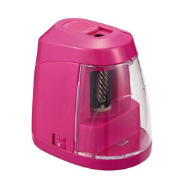 クツワ KUTSUWA 安全電池えんぴつけずりピンク