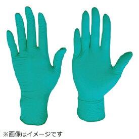 川西工業 川西 ニトリル使いきり手袋粉無250枚入グリーンLサイズ 2061GR-L