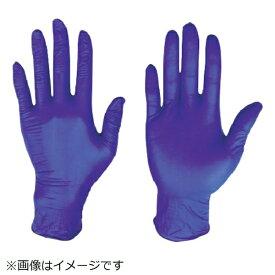 川西工業 川西 ニトリル使いきり手袋粉無300枚入ダークブルーMサイズ 2062BL-M