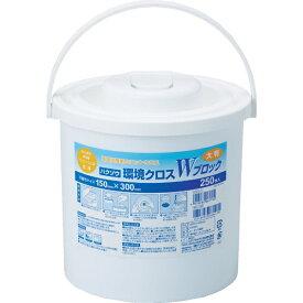ハクゾウメディカル Hakuzo ハクゾウメディカル ハクゾウ環境クロスWブロック 大判容器入 250枚 2600174