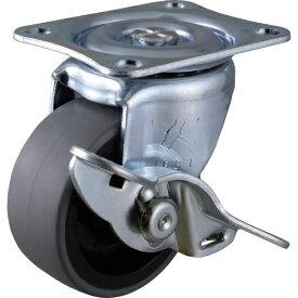 ハンマーキャスターセールス HAMMER CASTER ハンマー Gシリ−ズ 自在SP付 PPホイ−ルエラストマ−巻車 50mm 415G-L50 BAR01