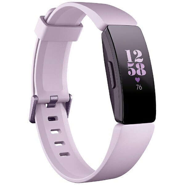 Fitbit フィットビット Fitbit フィットネストラッカー Inspire HR Lilac L/Sサイズ FB413LVLV-FRCJK ライラック[FB413LVLVFRCJK]
