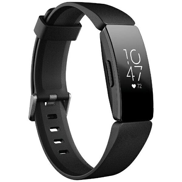 FITBIT Fitbit フィットネストラッカー Inspire HR Black L/Sサイズ FB413BKBK-FRCJK ブラック[FB413BKBKFRCJK]