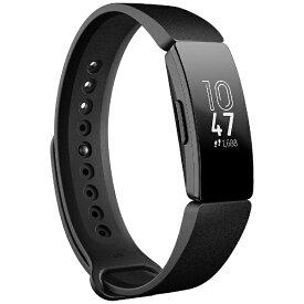 Fitbit フィットビット FB412BKBK-FRCJK フィットネストラッカー L/Sサイズ Inspire ブラック[FB412BKBKFRCJK]