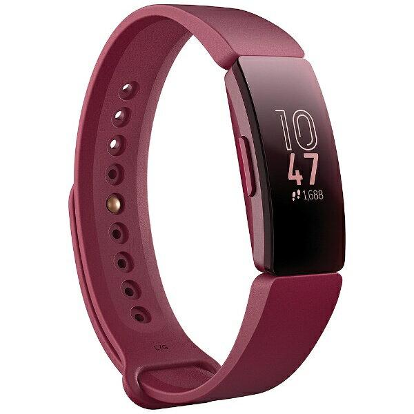 Fitbit フィットビット Fitbit フィットネストラッカー Inspire Sangria L/Sサイズ FB412BYBY-FRCJK サングリア[FB412BYBYFRCJK]