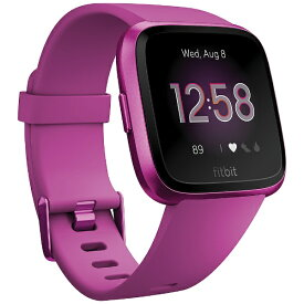 Fitbit フィットビット FB415PMPM-FRCJK フィットネススマートウォッチ Versa ライトエディション L/Sサイズ マルベリー[FB415PMPMFRCJK]