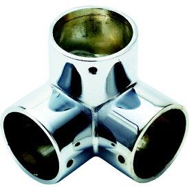 フジテック FUJITEK フジテック パイプ継手三方エルボ・32mm(ネジ止め付) B-28414