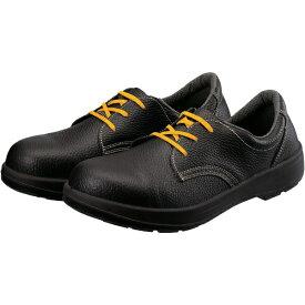 シモン Simon シモン 2層ウレタン底静電安全短靴 AW11BKS-25.5