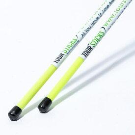 ヤマニ YAMANI スイング練習器 ツアースティック:2本入り(約117cm/ライトグリーン) TRMGNTT6