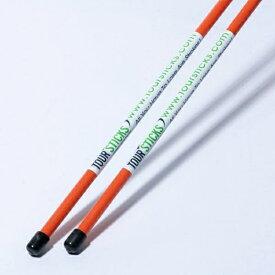 ヤマニ YAMANI スイング練習器 ツアースティック:2本入り(約117cm/オレンジ) TRMGNTT6