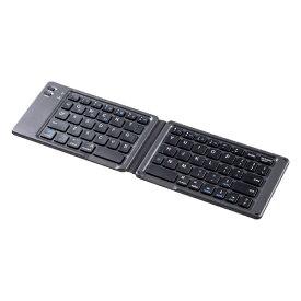 サンワサプライ SANWA SUPPLY キーボード ブラック SKB-BT30BK [Bluetooth /ワイヤレス][SKBBT30BK]