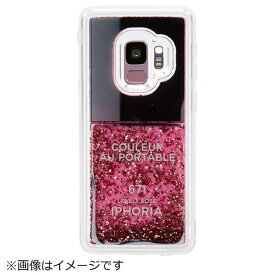 IPHORIA アイフォリア Galaxy S9 TPUケース Nailpolish Lovely Rose