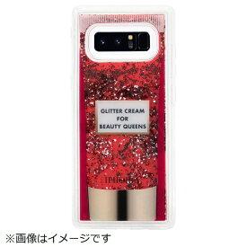 IPHORIA アイフォリア Galaxy Note8 TPUケース Glitter Cream