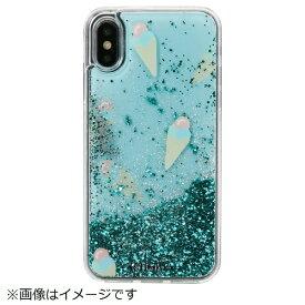 IPHORIA アイフォリア iPhone X/XS TPUケース Ice Cream Mint